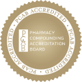 Pharmacy Compounding Accreditation Board (PCAB), gold seal of accreditation